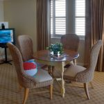 Breakers Hotel Suite with Table in Ocean City, MD