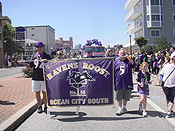 parade for ravens roost in oCMD